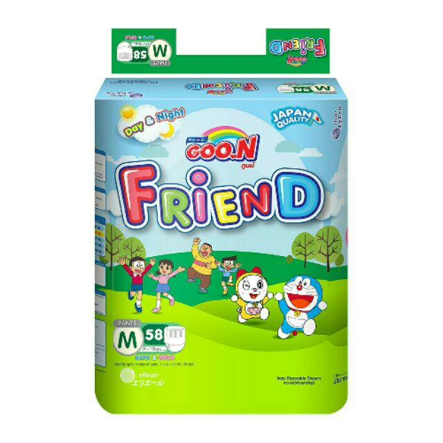 Bỉm quần Goon friend đủ size/XL42/S62/M60/L48/