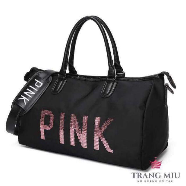 Túi pink sẵn hàng nhé