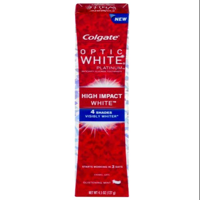 Kem đánh răng của Mỹ Colgate Optic White Hight Impact White 127g - 9987977 , 517892412 , 322_517892412 , 200000 , Kem-danh-rang-cua-My-Colgate-Optic-White-Hight-Impact-White-127g-322_517892412 , shopee.vn , Kem đánh răng của Mỹ Colgate Optic White Hight Impact White 127g