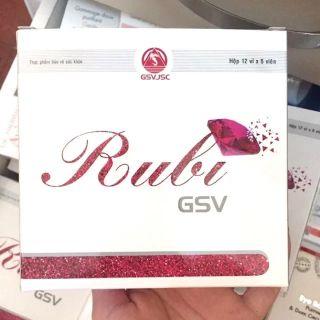 ✔️[CHÍNH HÃNG] Viên uống chống lão hóa da Rubi GSV