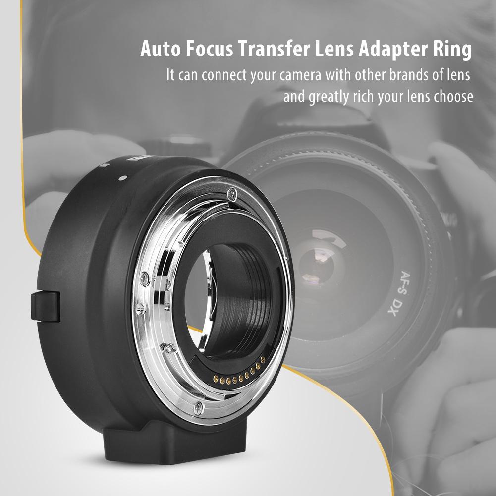 Bộ chuyển đổi ống kính meike EF s-eos m AF cho Canon EF EF-S Series Lens thumbnail