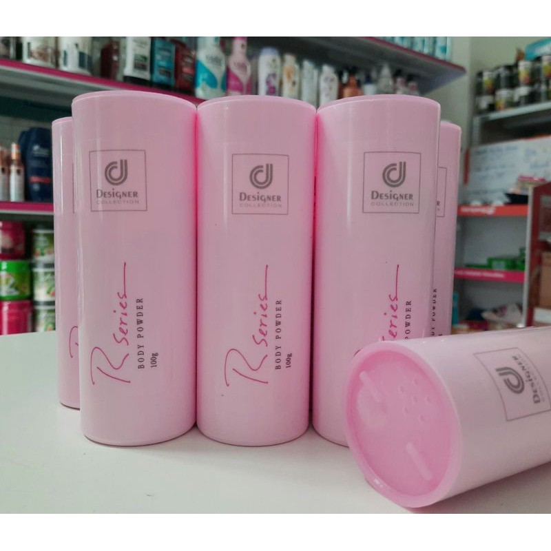 Phấn thơm hương nước hoa Rseries body powder 100g chuẩn auth thái lan