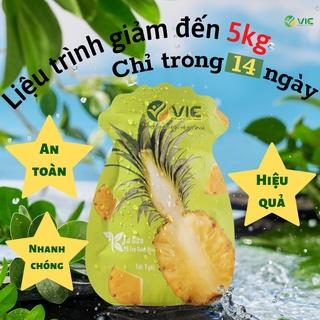 Kẹo dứa hỗ trợ giảm cân, giảm mỡ tại nhà - An toàn - Hiệu quả - Nhanh chóng - Hàng chính hãng - Beauty Cosmetics Shop thumbnail