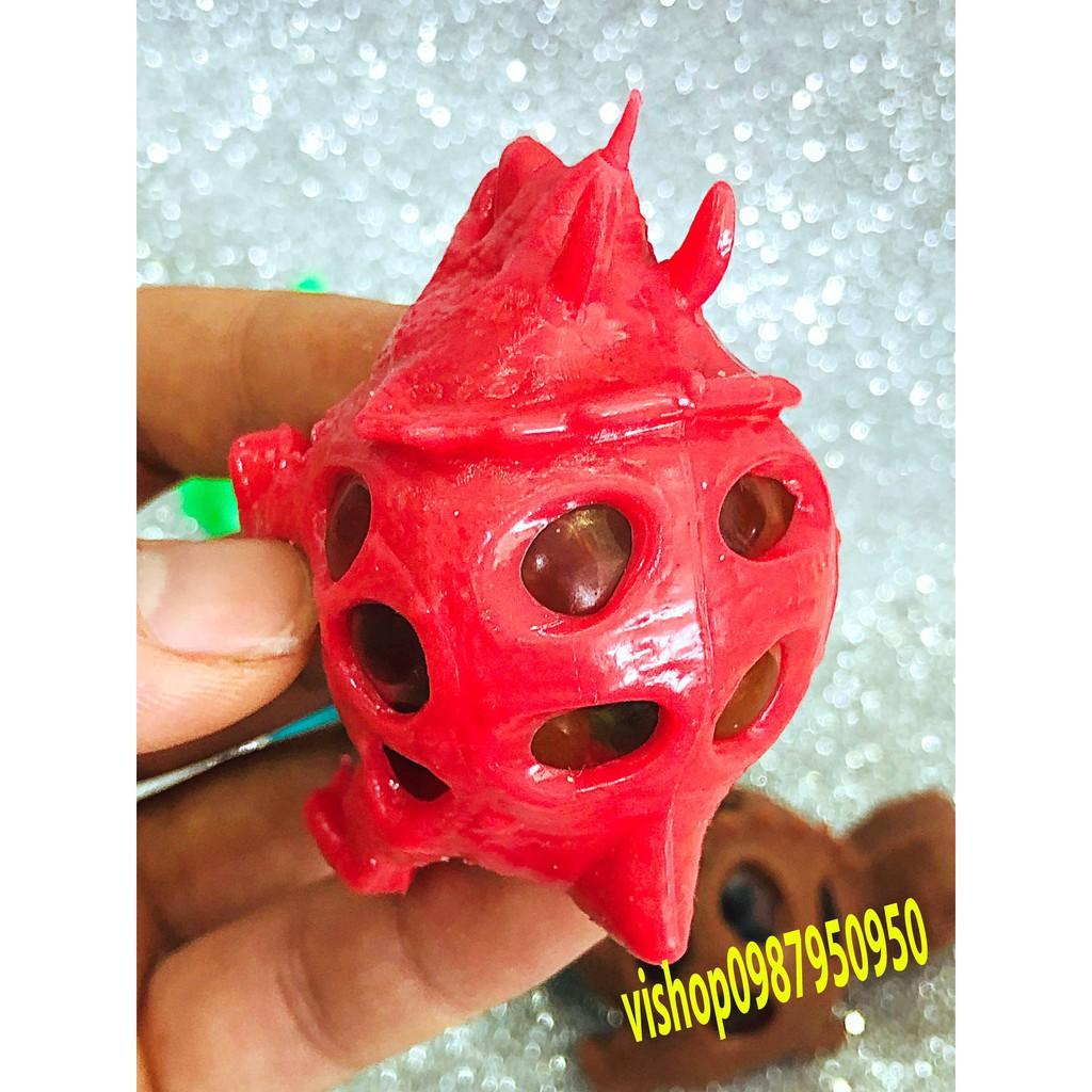 đồ chơi gudetama bóp trút giận khủng long có hạt nở mã IBI91 Ntu9z