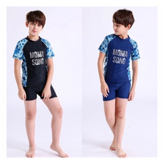Bộ đồ bơi cho nam, trẻ lớn 20-60kg hiệu Momasong, đồ bơi cao cấp, đồ bơi cho bé trai size lớn