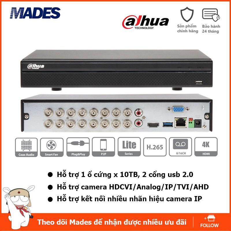 Đầu ghi hình 16 kênh Dahua DH-XVR 5116HS-X Bảo hành 24 tháng (Hỗ trợ DSSDDNS)