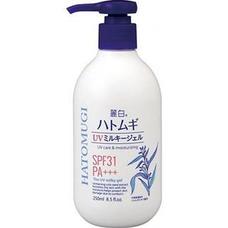 Sữa Dưỡng Thể Dưỡng Trắng - Chống Nắng Nhật Hatomugi UV-Care & Moisturizing SPF31 PA+++__Linmin.Cosmetic thumbnail