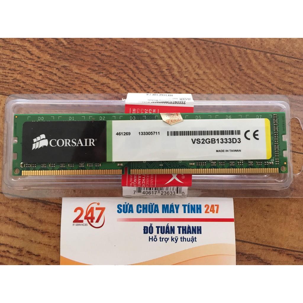 Ram 2GB DDR3 bus 1333 cũ Giá chỉ 105.000₫