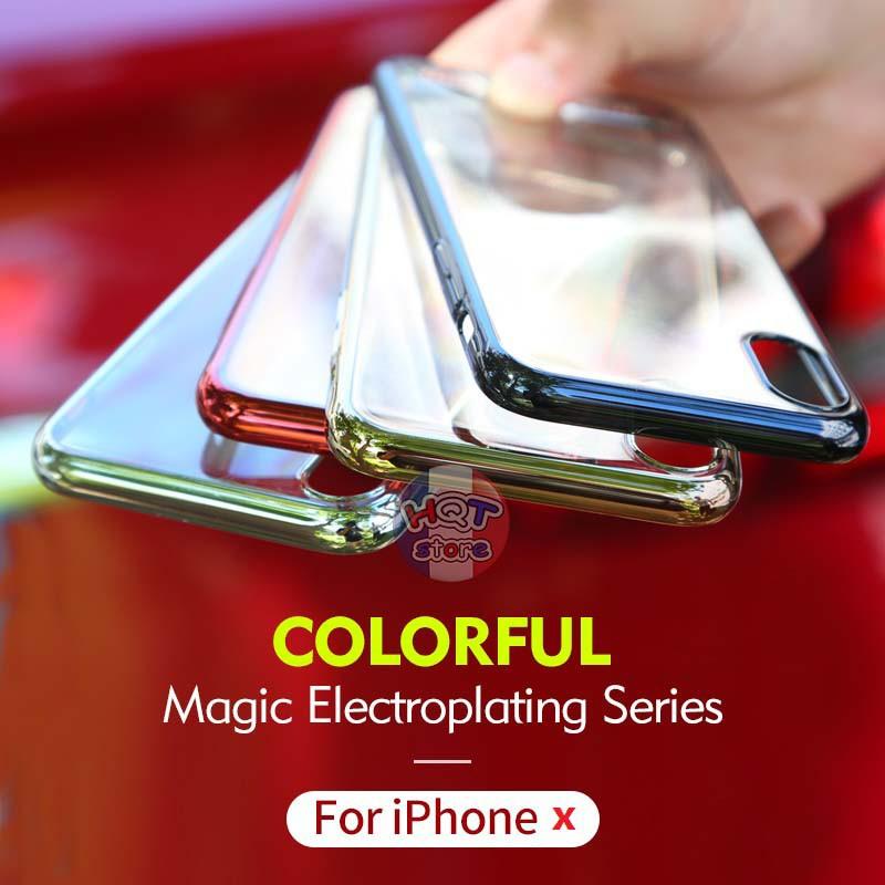 Ốp lưng trong suốt viền màu Benks Magic Pure cho Iphone X - 2604625 , 785194802 , 322_785194802 , 160000 , Op-lung-trong-suot-vien-mau-Benks-Magic-Pure-cho-Iphone-X-322_785194802 , shopee.vn , Ốp lưng trong suốt viền màu Benks Magic Pure cho Iphone X