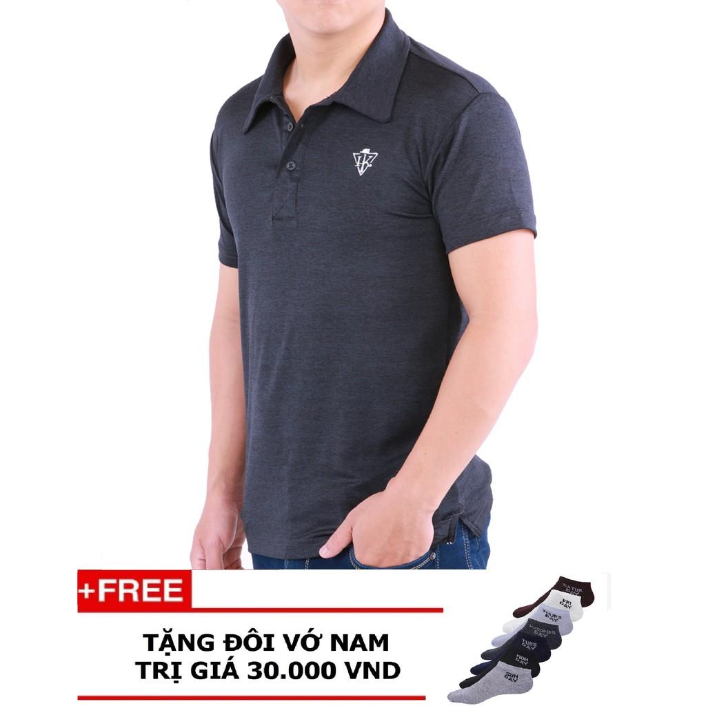 [FREESHIP] Combo 2 Áo Thun Nam Thể Thao Cổ Bẻ - Tặng 2 Tât Nam