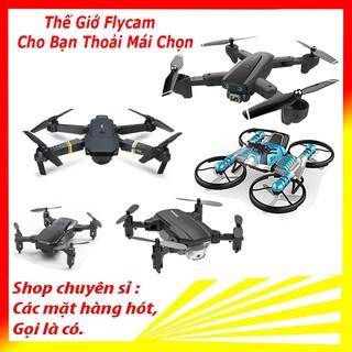 Flycam giá rẻ mini có camera, Máy bay camera 4k, flycam mini giá rẻ điều khiển từ xa quay phim, chụp ảnh
