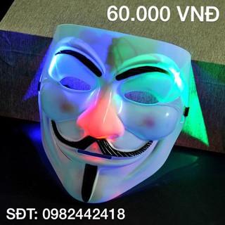 Mặt nạ hacker anonymous (có đèn)-a00 BM(9)