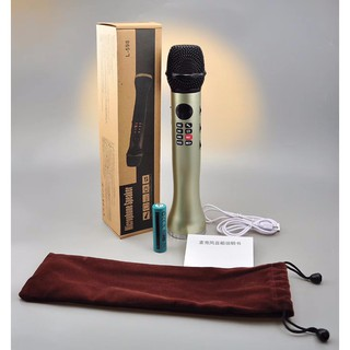 [ Siêu rẻ ] Micro Karaoke Bluetooth L-598