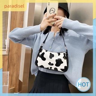 Túi đeo vai da PU hình vân da bò sữa thời trang cho nữ túi xách nữ đẹp