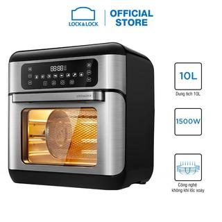 Lò nướng chân không điện tử Lock&Lock All-in-one Air Fryer Oven 10L Màu đen - EJF291BLK thumbnail
