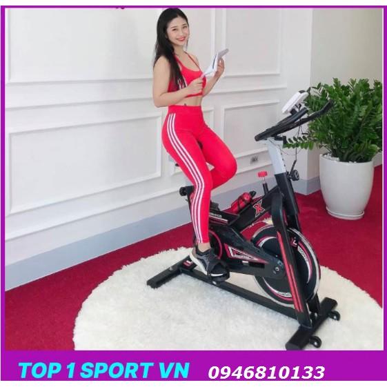 Xe đạp tập thể dục, xe đạp toshiko tặng kèm : đồng hồ, bình nước thể thao