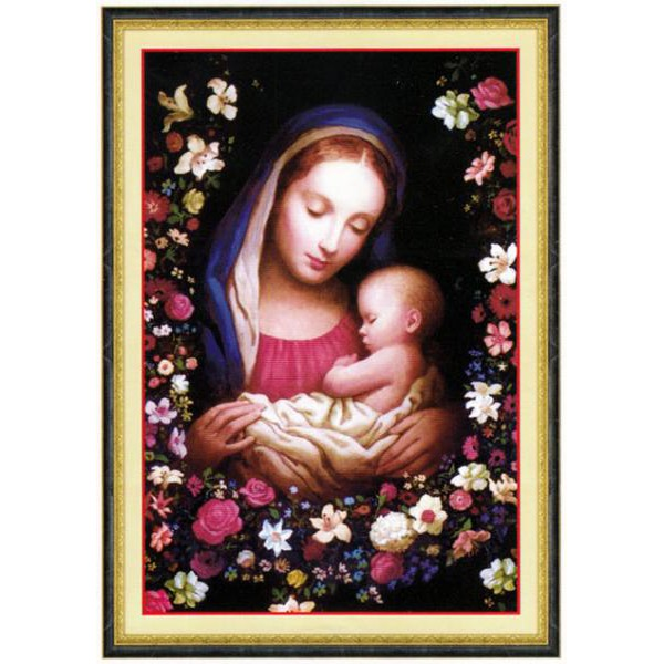 Dức Mẹ Maria Bồng Chúa (Vải In 3D)