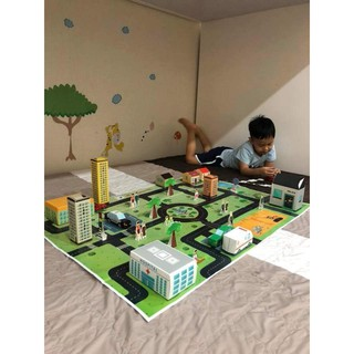 xếp hình trẻ em – ĐỒ CHƠI SẠCH bộ đồ chơi xếp hình Bé Xây Thành Phố