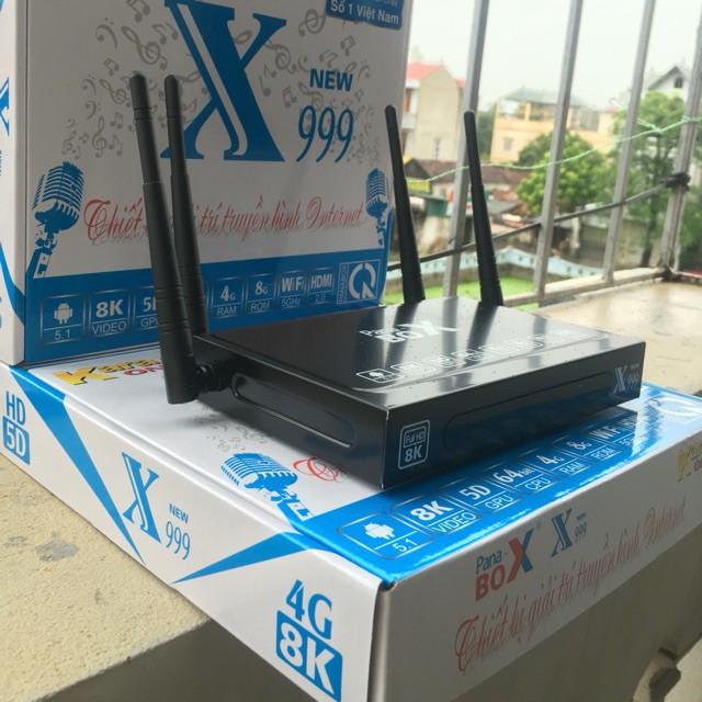 Tivibox Pana Box X999 New Ram 4G, Chip 905 chạy SIÊU MƯỢT !