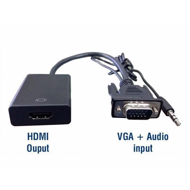 Bộ Cáp chuyển đổi tín hiệu từ VGA sang HDMI có âm thanh kèm theo cáp Micro USB - 14349608 , 1282874503 , 322_1282874503 , 150000 , Bo-Cap-chuyen-doi-tin-hieu-tu-VGA-sang-HDMI-co-am-thanh-kem-theo-cap-Micro-USB-322_1282874503 , shopee.vn , Bộ Cáp chuyển đổi tín hiệu từ VGA sang HDMI có âm thanh kèm theo cáp Micro USB