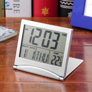Đồng hồ báo thức để bàn có màn hình LCD