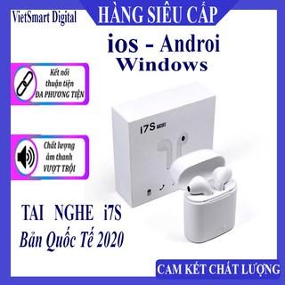 [XẢ KHO i7s] Tai nghe bluetooth, Tai Nghe không dây i7S TWS, Âm Thanh Cực Hay ( nghe 2 tai)