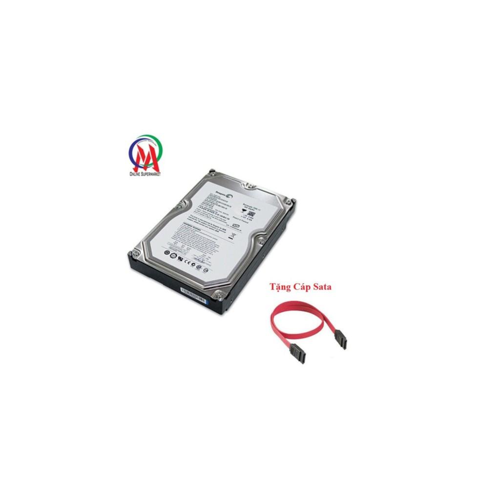 Ổ cứng Pc 250GB Seagate dày bh 24 tháng tặng cáp Sata