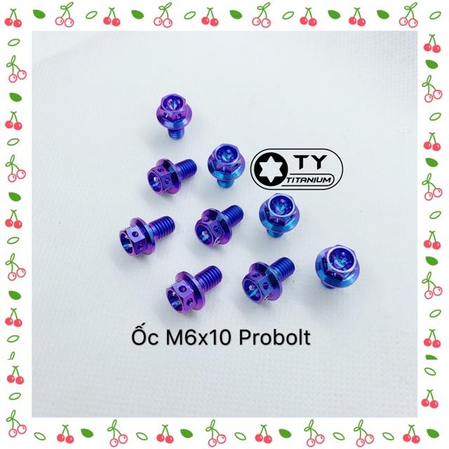 ỐC TITAN 6li10 Probolt ( Vương miện ) GR5 bắt thông dụng nhiều vị trí xe máy
