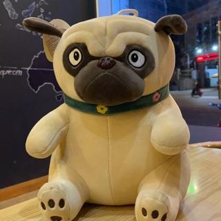 Chó nhồi bông pug siêu cute hàng nhập khẩu