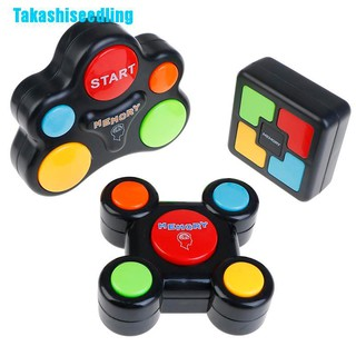 Takashiseedling☬ Educational Memory Game With Lights And Sounds Toy Quiz Game Children Adult Play