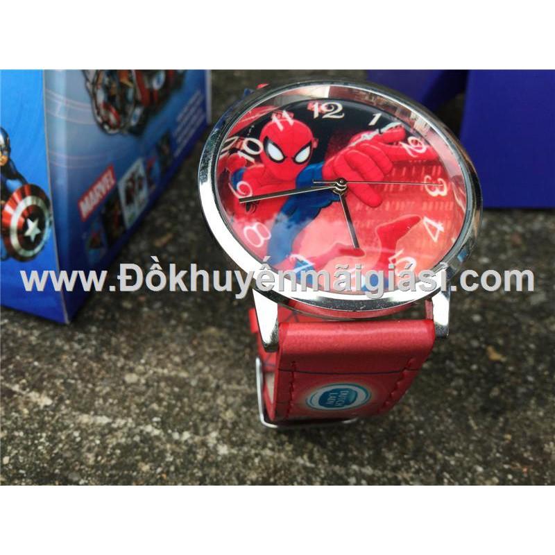 Spider Man (Người nhện): Đồng hồ đeo tay hoạt hình Disney cho bé của sữa Fristi tặng - Made in Hong - 3283551 , 1343709246 , 322_1343709246 , 38000 , Spider-Man-Nguoi-nhen-Dong-ho-deo-tay-hoat-hinh-Disney-cho-be-cua-sua-Fristi-tang-Made-in-Hong-322_1343709246 , shopee.vn , Spider Man (Người nhện): Đồng hồ đeo tay hoạt hình Disney cho bé của sữa Frist