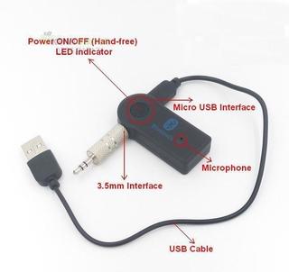 USB BT bluetooth music cho xe hơi biến loa thường thành loa bluetooth BTR302