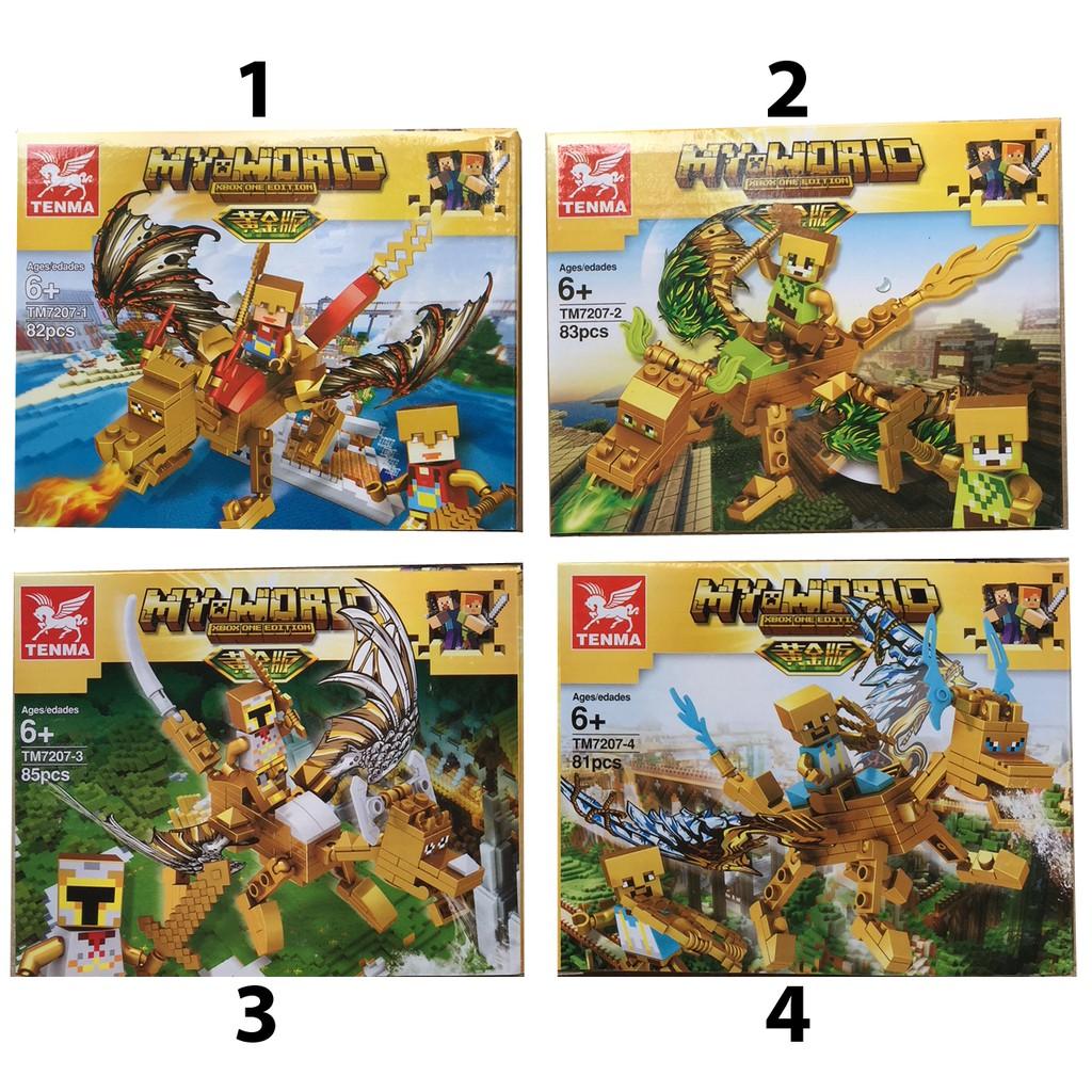 Lego xếp hình My World MineCraft 81-85 pcs