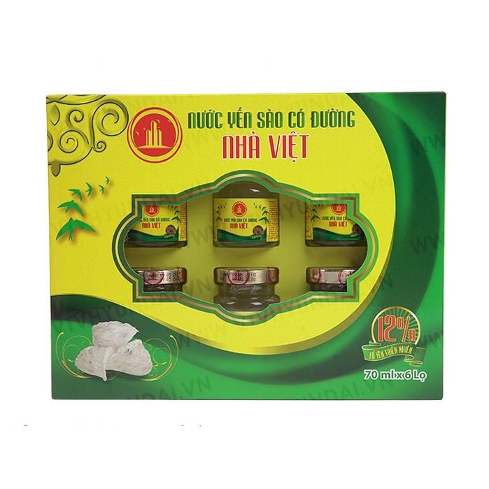 Yến sào Nhà Việt 12% yến tổ ca