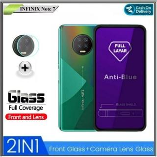 Kính cường lực chống ánh sáng xanh cho máy ảnh Infinix Note 7 thumbnail