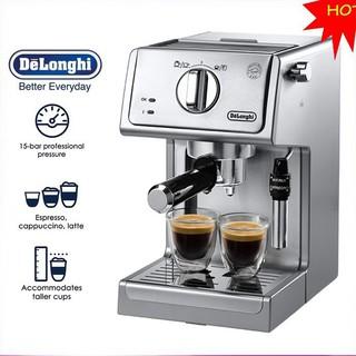 Máy pha cà phê Espresso thương hiệu Delonghi ECP36.31 – Công suất đầu vào: 1100W – Hàng Nhập Khẩu AD