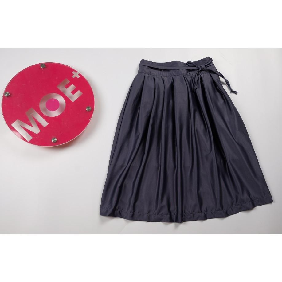 Chân váy Hani xếp ly thưa lụa mềm nhẹ 68cm