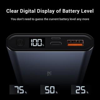 Hình ảnh TOPK I1006P Pin Sạc Dự Phòng Cho iPhone Huawei Samsung Xiaomi Oppo Vivo Realme 10000mAh 36W Sạc Nhanh Có Màn Hình Điện Tử-3