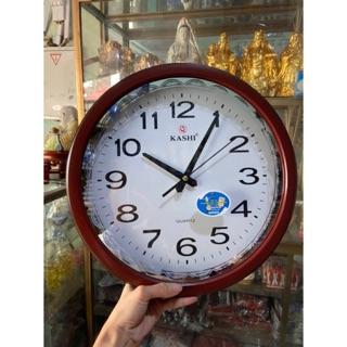 Đồng hồ nâu mẫu tròn