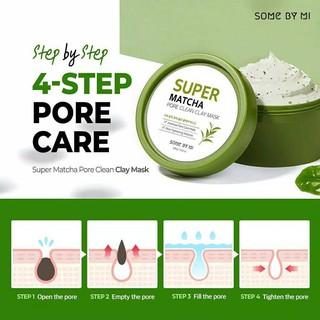 Hình ảnh Mặt nạ dưỡng da Some By Mi Super Matcha Pore Clean Clay Mask 100g-2