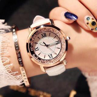 Đồng hồ thời trang nữ SHSHD cườm xoay SC799