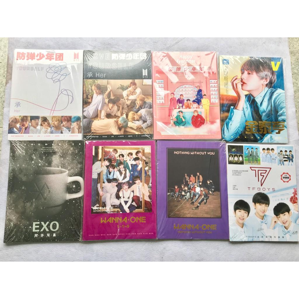 Photobook TFBOYS, BIGBANG, GOT7, SUJU