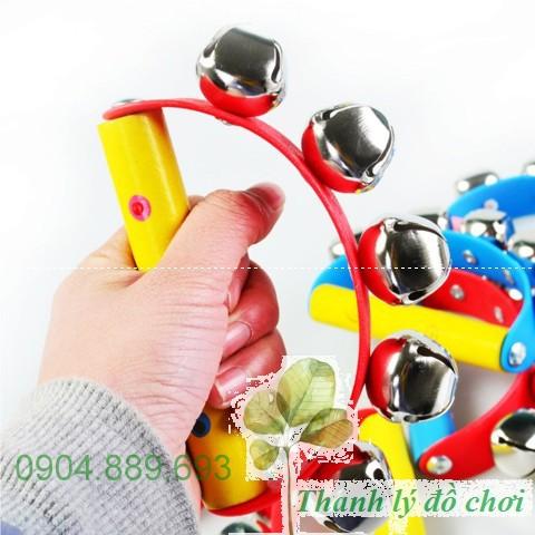 Lắc chuông cầm tay – Đồ chơi phát nhạc cho trẻ từ 0-3 tuổi