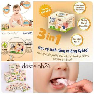 Baby Bro - Gạc vệ sinh răng miệng chính hãng Hàn Quốc thumbnail