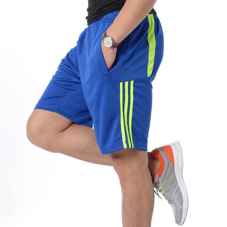 Quần thể thao nam Short chơi Tennis - BLUE, chạy bộ, thể thao ngoài trời: thoáng khí, thoát mồ hôi P