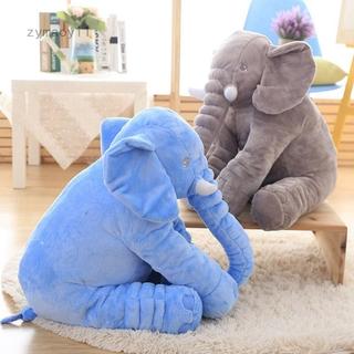 Zymaoyi1 50*60cm Large Big Soft Plush Stuffed Elephant Animal Toys Teddy Bear Pillow UK-24″