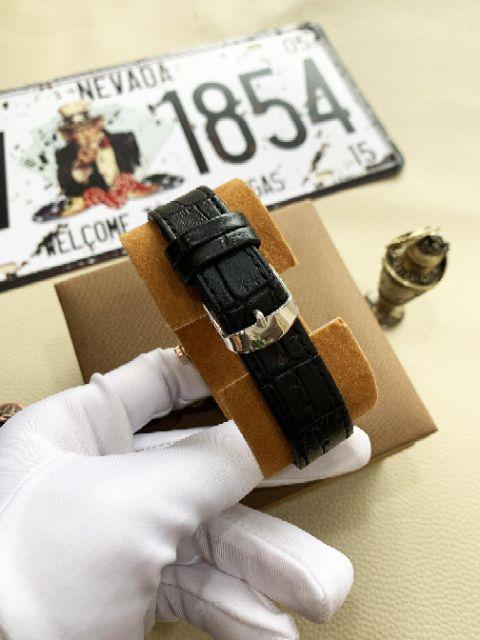 [xả kho] Đồng hồ nam dây da cao cấp cuena CR03 dành cho bạn trẻ năng động