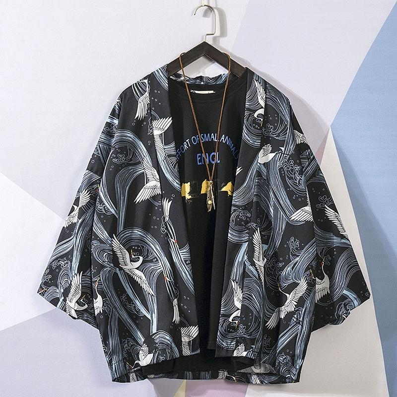 Áo choàng Kimono chống nắng cho nam