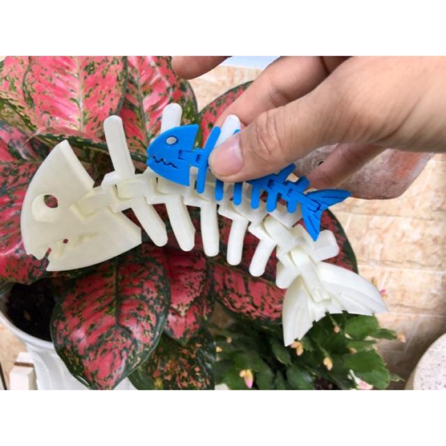 Mô hình in 3D – Xương cá linh hoạt