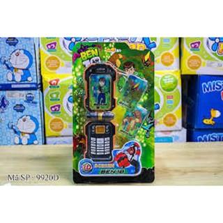 Điện thoại siêu nhân có nhạc (kèm pin)